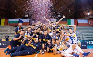 I #TipiTosti azzurrini Under 18 di volley maschile sono Campioni d