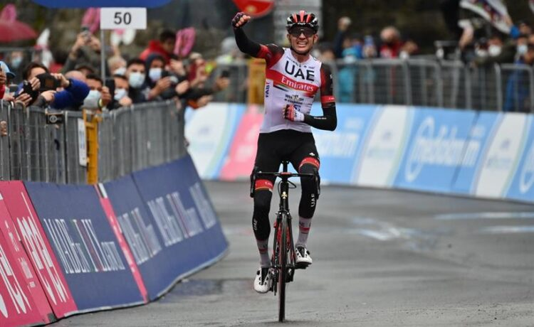 Giro d'Italia: Dombrowski a Sestola, De Marchi in rosa