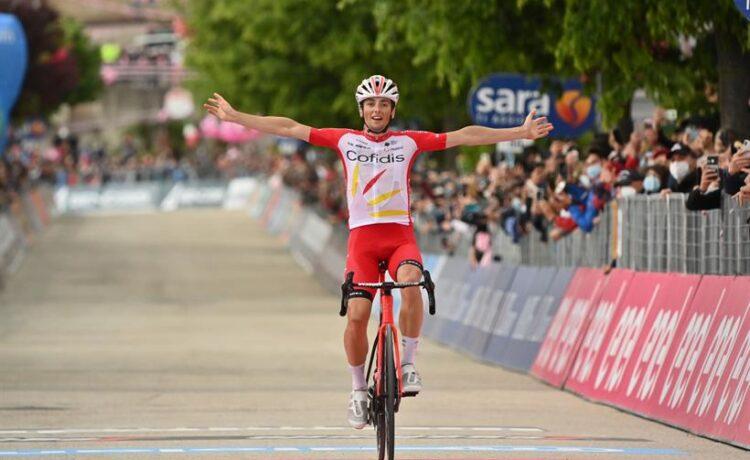 Giro d'Italia: a Lafay l'8^ tappa