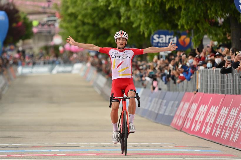 Secondo Gavazzi - Attila Valter ancora in maglia rosa
