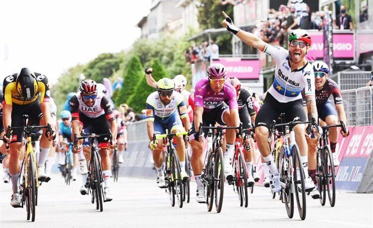 Giro d'Italia: Nizzolo sfreccia a Verona