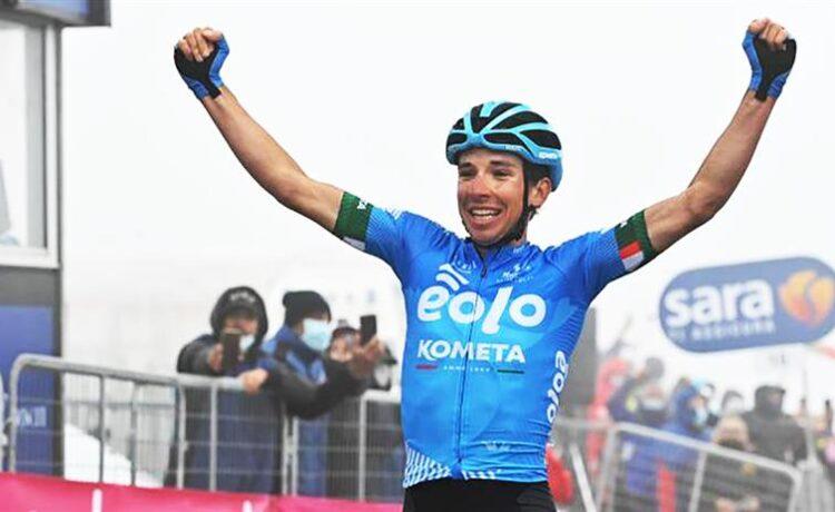 Giro d'Italia: Fortunato conquista lo Zoncolan