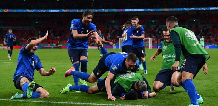 Chiesa e Pessina colorano Wembley d'azzurro! L'Italia batte l'Austria ai supplementari e vola ai Quarti di finale