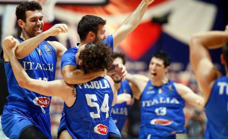 Italbasket, sei gigante! Serbia battuta, gli azzurri vanno a Tokyo