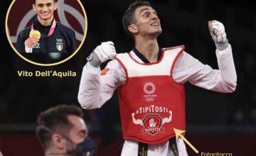 """Ma è anche il primo atleta italiano a ricevere il titolo di """"Capitano dei #TipiTosti"""""""